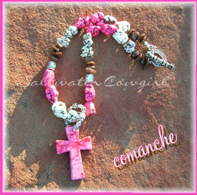 comanche-cowgirl jewelry,funky,rodeo queen,modern cowgirl,wholesale cowgirl jewelry,chunky turquoise,concho pendant,bling