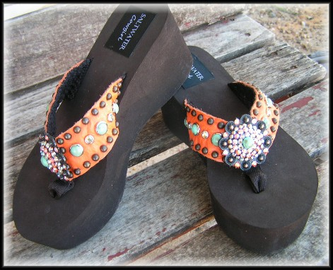 Sonora Cowgirl Flip Flops